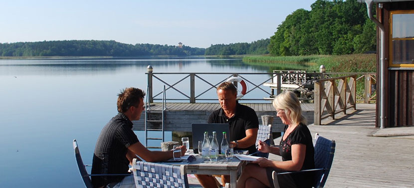 Konferens på Engsholms slott: inte bara slott